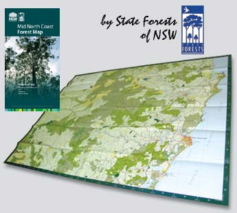 Mid North Coast Forest Map