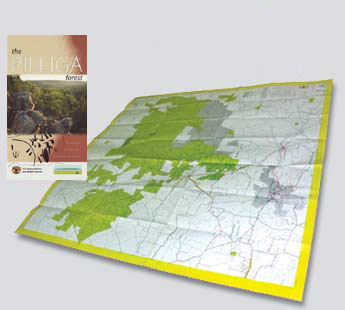 Pilliga Forest Map